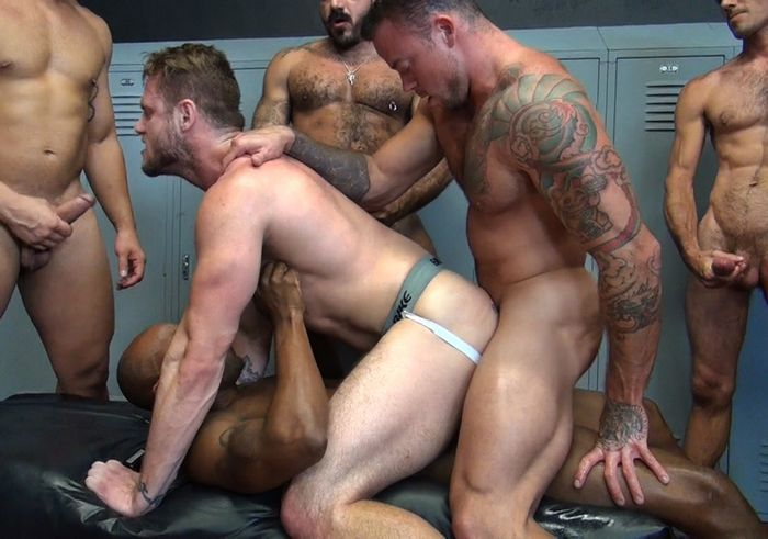 gay bareback raw breeding porn gay breed porn kinky sean fucks lane bareback muscle