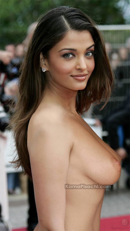 aishwarya rai nude topless showing her boobs nipples alis celeb