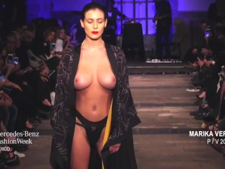 alejandra guilmant big tits topless in mexico fashion week