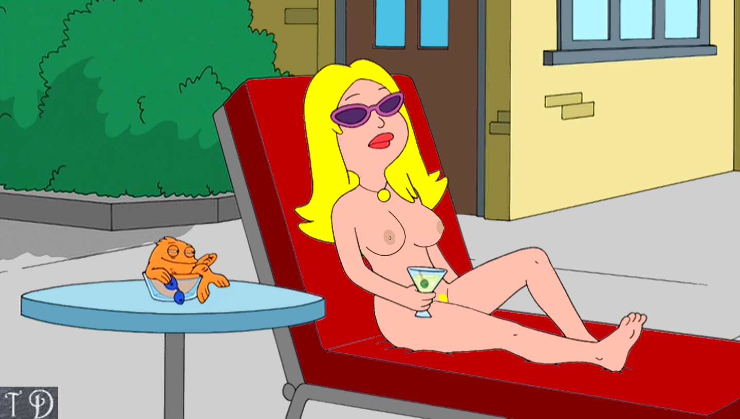 Sexy francine american dad cute dress you