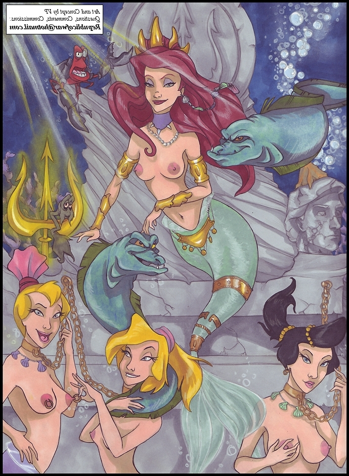 from Legend aeril from the little mermaid porn fakes