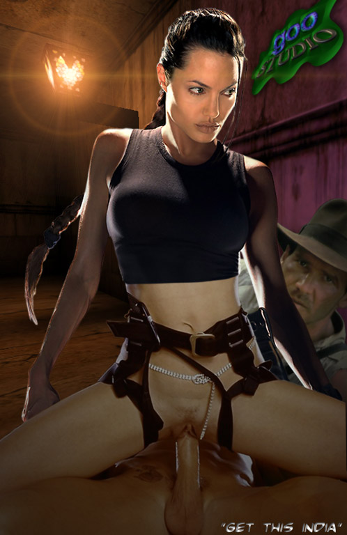 Lara Croft Hentai Monster