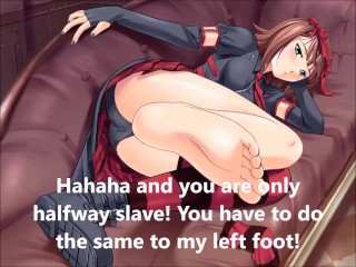 anime foot fetish foot hypnosis