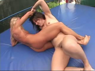 female wrestling tube Nude asian