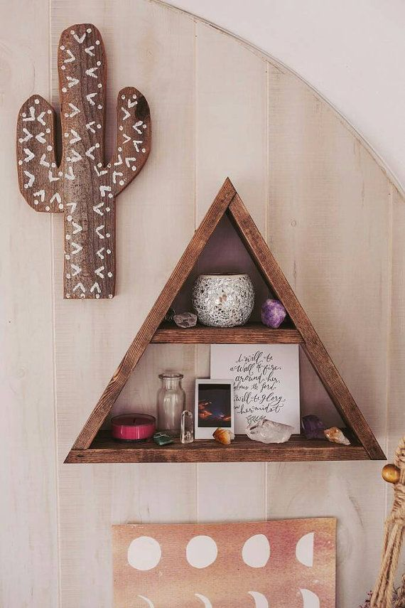 apothecary triangle shelf part of mountain shelf series is the perfect piece