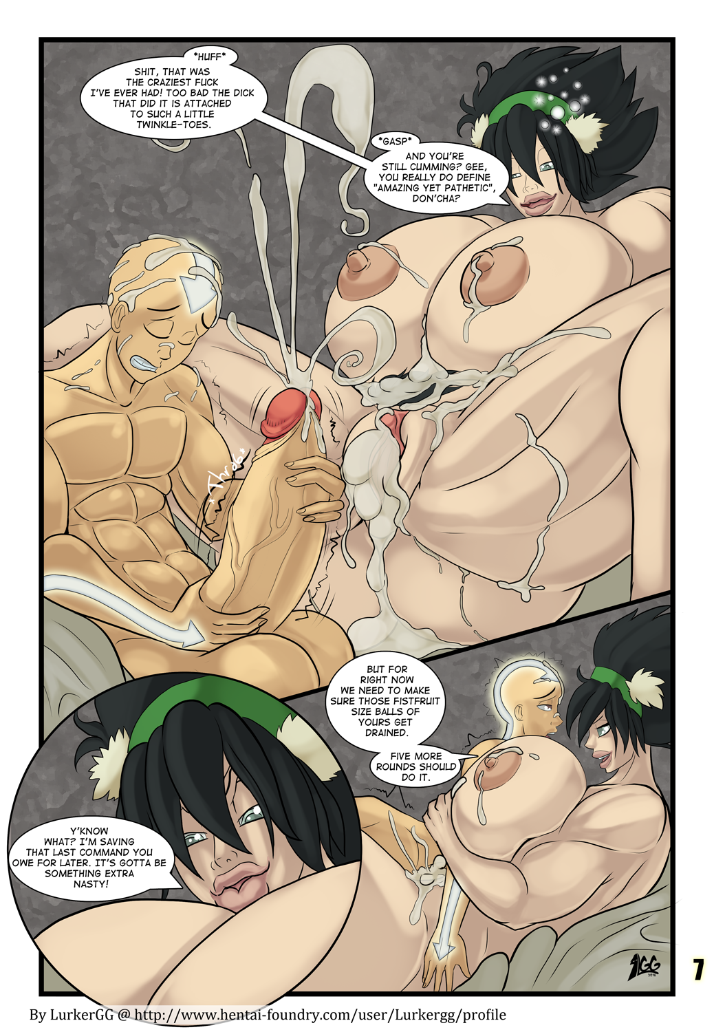 Your idea avatar last airbender toph porn