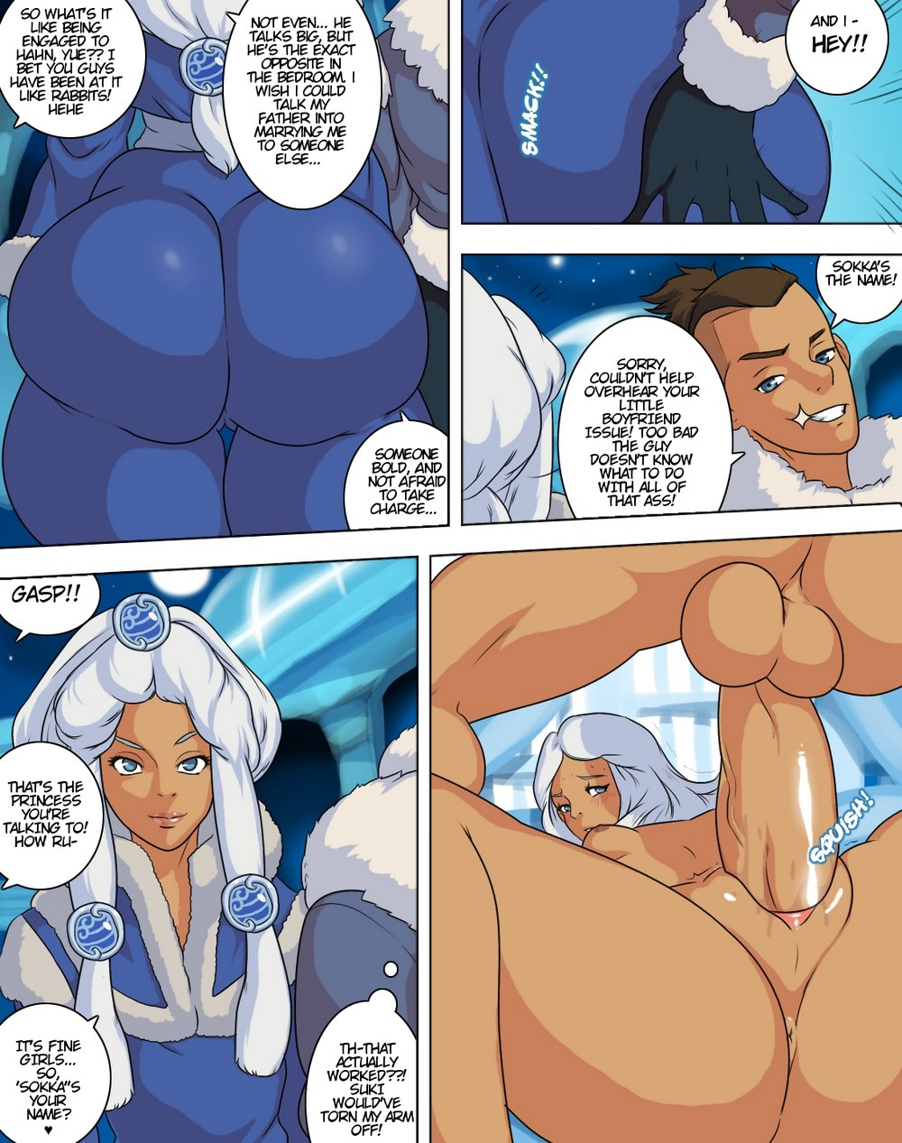 Something avatar last airbender katara and sokka porn remarkable