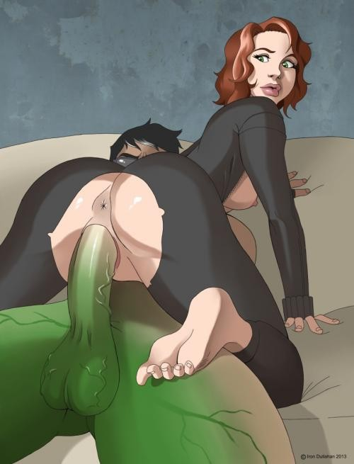 porn Avengers cartoon