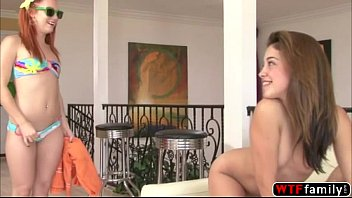 awesome redhead teen dani jensen and brunette