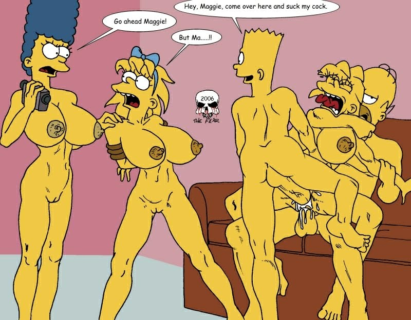 Bart and marge sex with