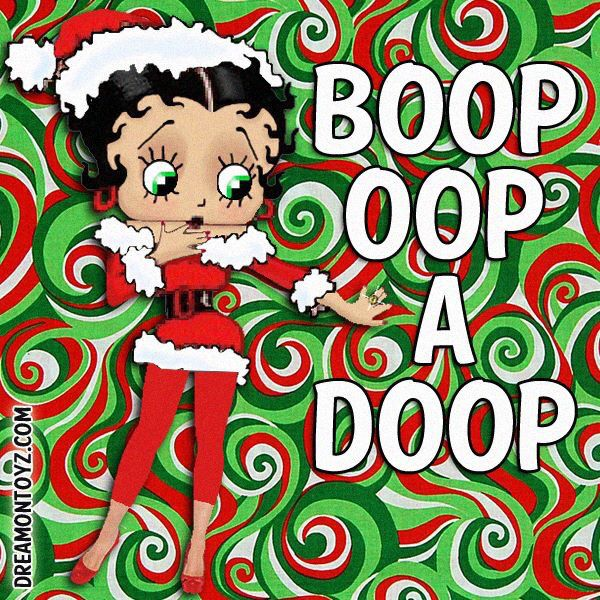 best betty boop christmas images on pinterest betty boop