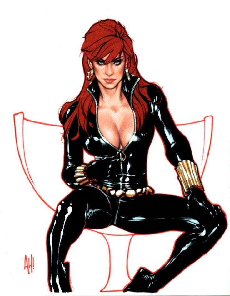 black widow nude Marvel comics