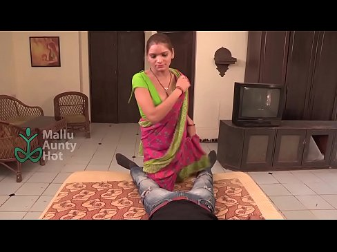 bgrade maid seduces with awesome cleavage 4