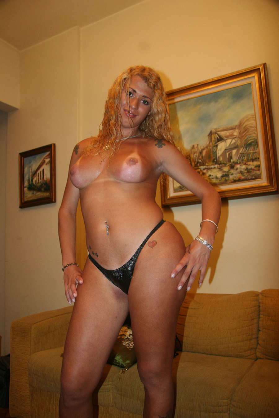 Curly Blonde Hair Petite
