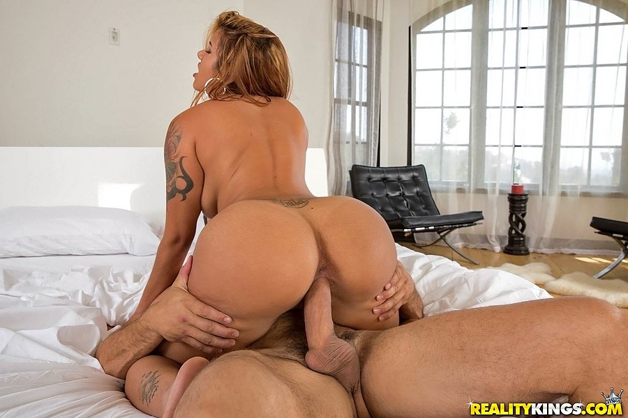 Latina Big Booty Riding Dick