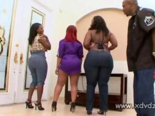 big black girl marshae moves her rump shaker wildly on top of her black lovers face 3