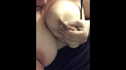 big lactating tits and pierced nipples squirting milk 2