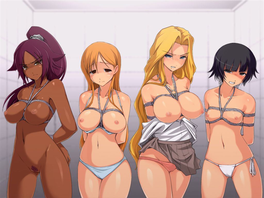 Orihime nude boobs gifs