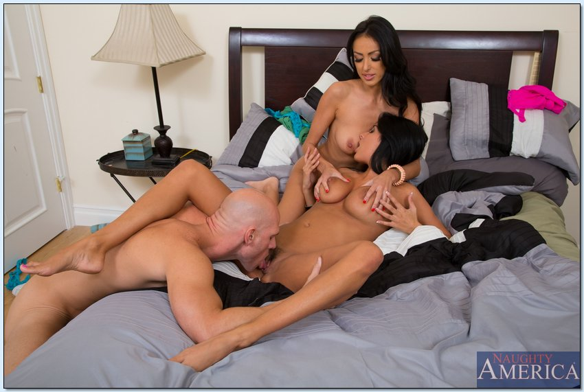 Johnny Sins Fucks Brunette