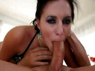 Black girl sloppy bj