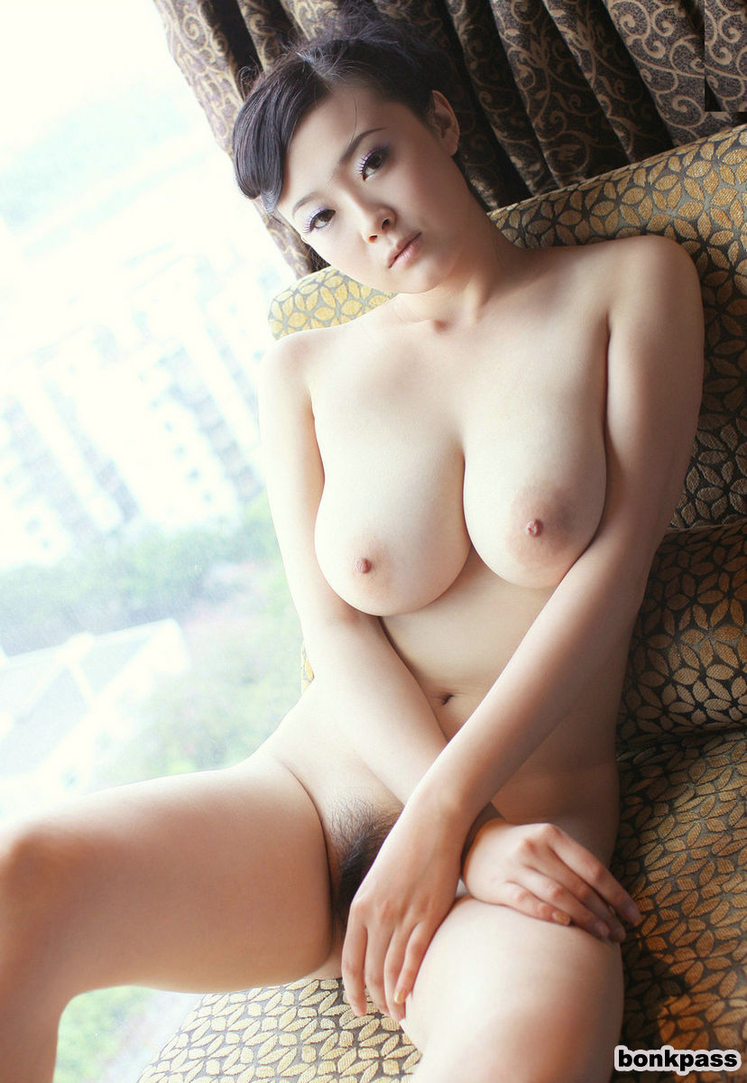 Natural Porn Asian busty chinese busty hairy asian babe with natural tits