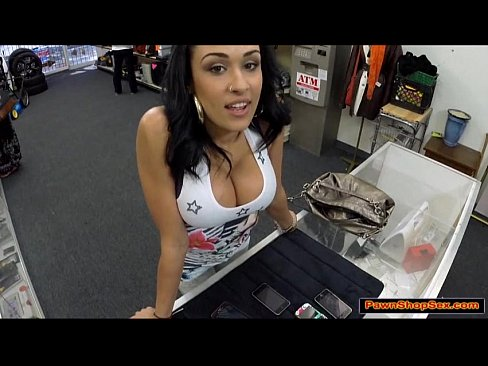 Busty Latina Chick Ends Up Fucking Pawn Shop Owner 1
