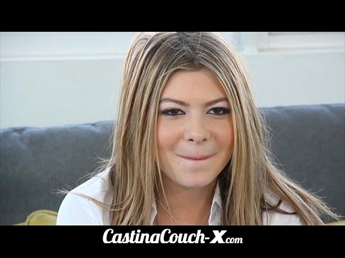 castingcouch dumb blonde coed needs 1
