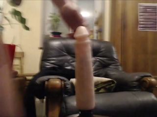 cheating wife riding her dildo