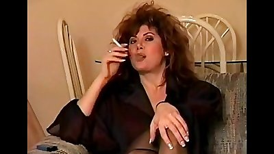 classic early smoking with big hair perfect