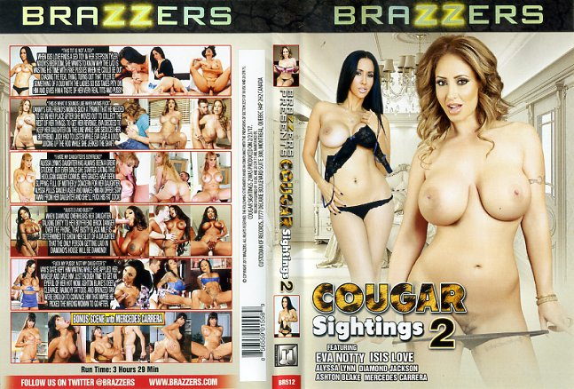 cougar sightings brazzers porn dvd
