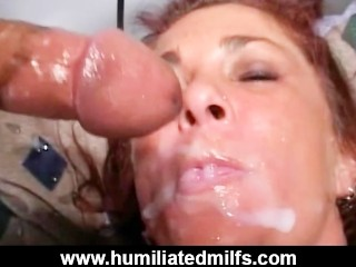 cum covered whore keeps on fucking 2