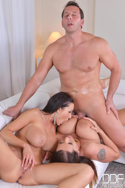 Big Tit Nurse Threesome