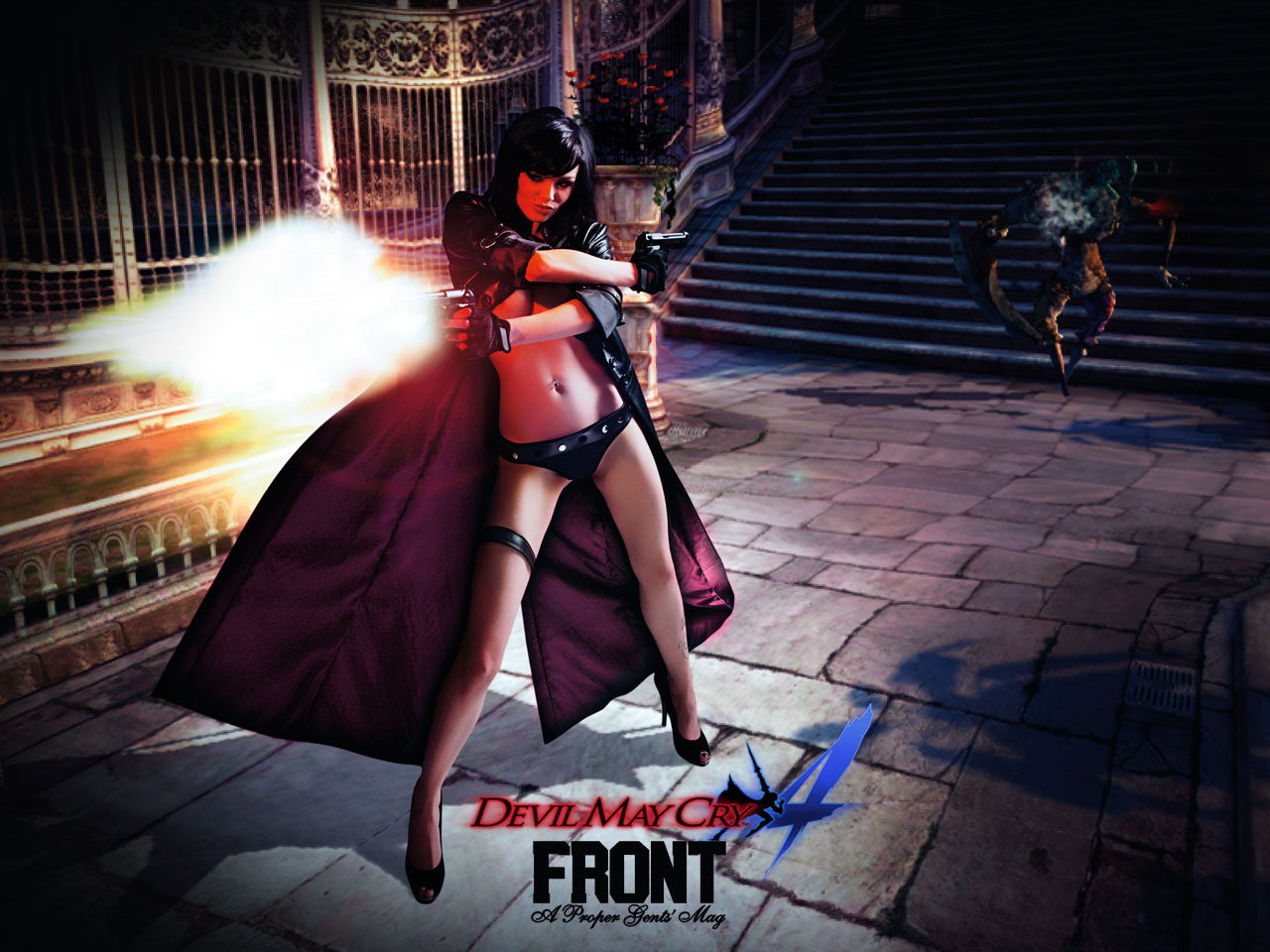 Devil may cry lady sex