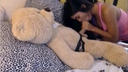 dildo ride teddy bear mfc