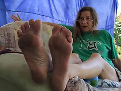 dirty mature sole show femdom foot fetish mature pov 1