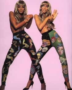 double trouble naomicampbell