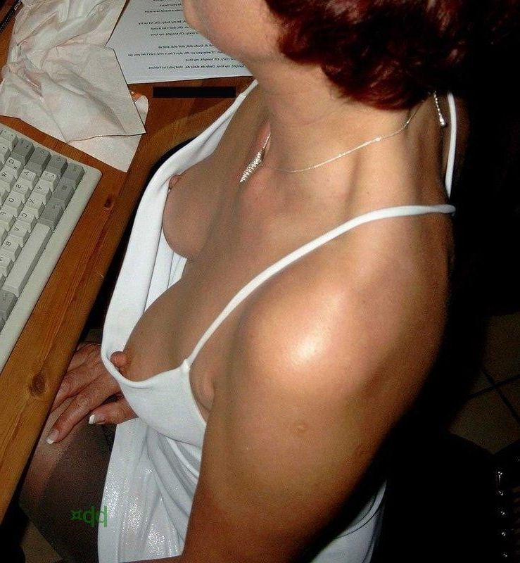 Nude tits down blouse