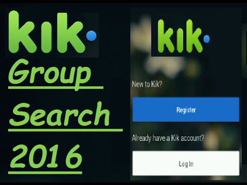 Shemale kik groups