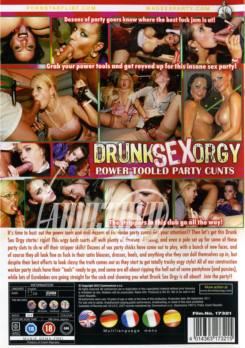drunk sex orgy power tooled party cunts eromaxx productions 1