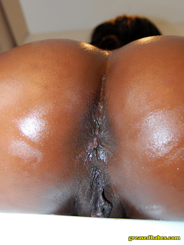 Ebony Amateur Ass Spread