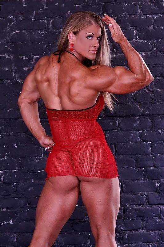 Bodybuilding Porn And Wild Femdom With Iron Heather