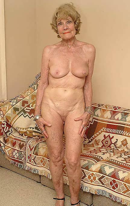 My beautiful thin nude 70 year old wife