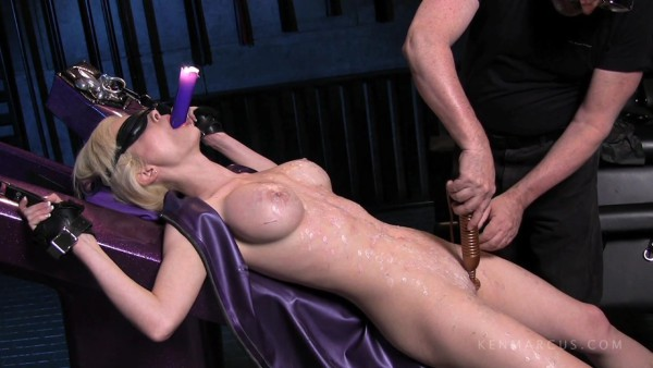 Hot candle wax sex torture