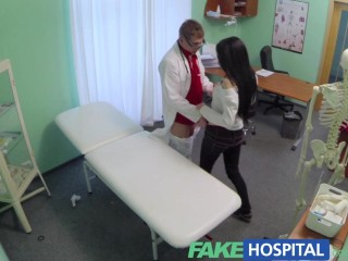 fakehospital passionate redheads tight pussy causes creampie from doctor 1