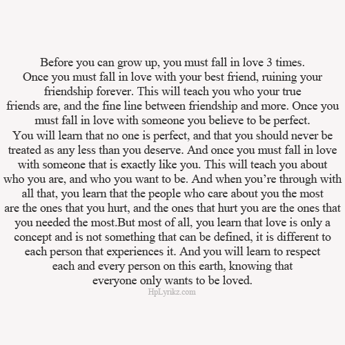 fall in love three times quotes pinterest respect goal
