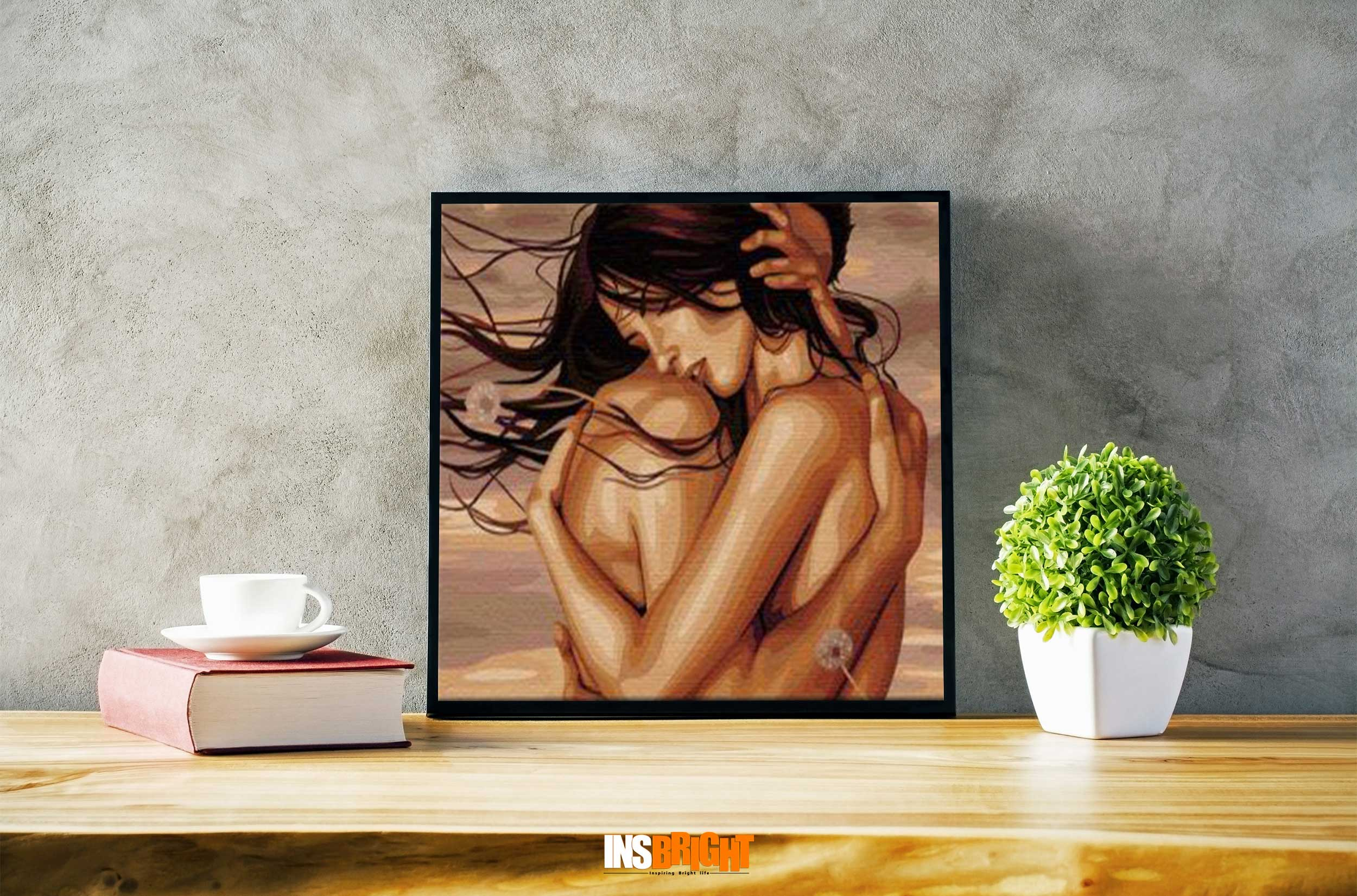 famous romantic love couples paintings for bedroom for sale