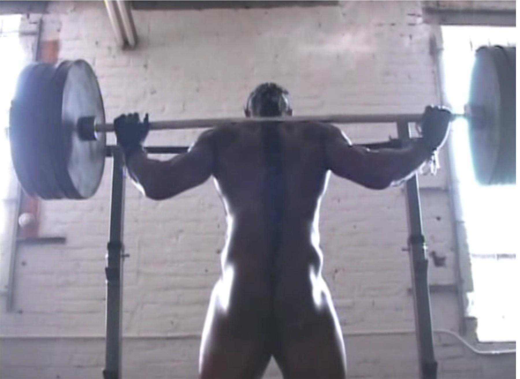 female bodybuilders michelle tuggle nude workout