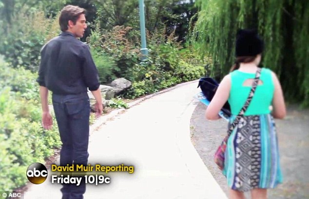 fighter the little girl pictured with abc news reporter david muir will also