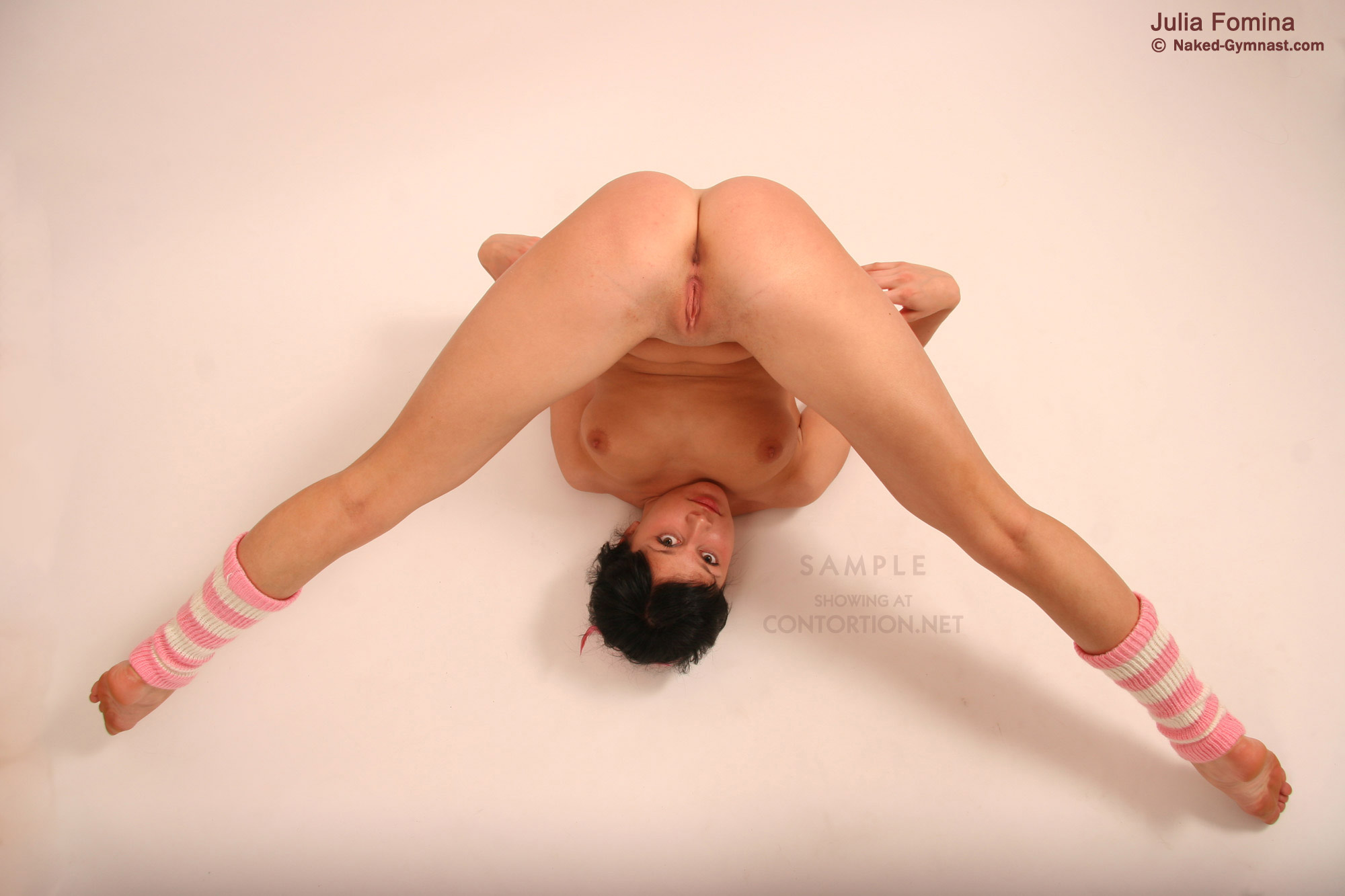 Something is. Hot naked flexible asian