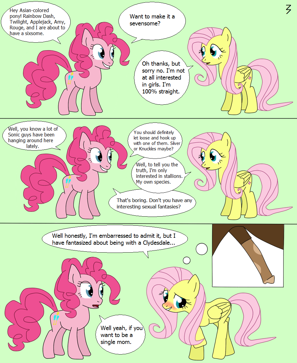 Charming answer My little pony fluttershy porn comic
